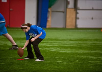 girls touch football